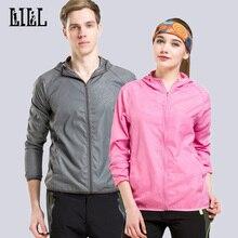 2018 Summer Anti-Uv Lover Light Thin Jackets Women & Men Windbreaker Coats Male Breathable Waterproof Jacket Plus Size 3XL UA156