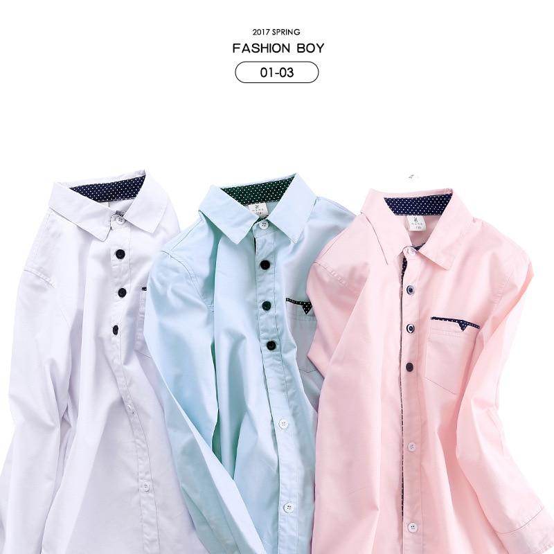 Angli Stili 2017 Pranvera e Re Camisa Pranvera Nxehtë Shitja e - Veshje për fëmijë - Foto 5