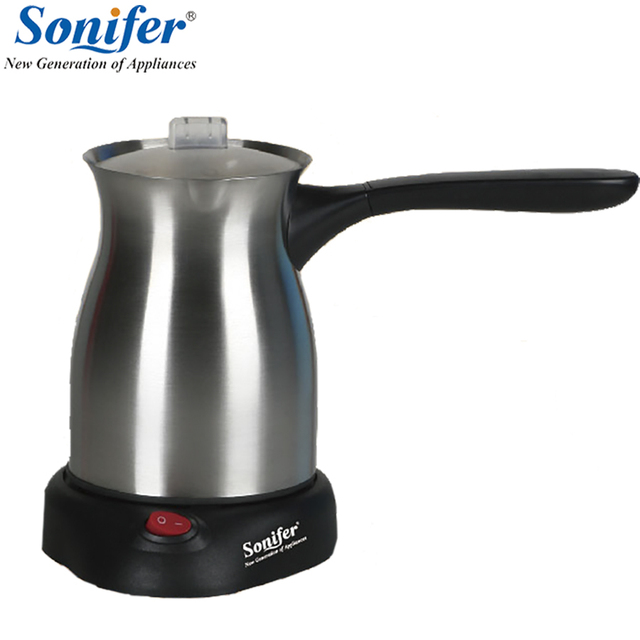 Original Stainless Steel Coffee Machine Turkey Maker Electrical Pot Kettle Sonifer