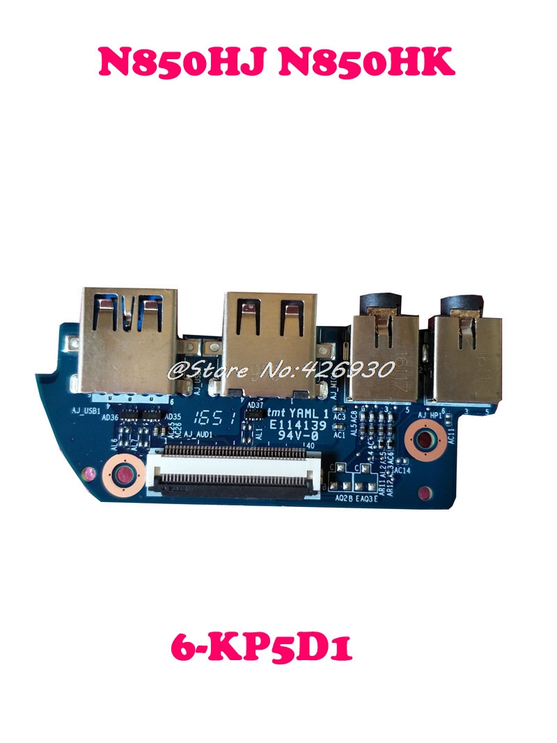 Laptop USB Board For CLEVO N850HJ N850HK 6 KP5D1 6 71 N8508D03 6 71 N8508 D03