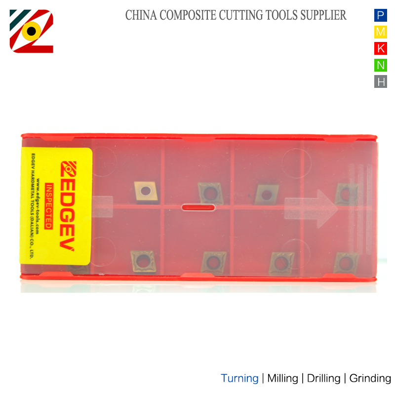 EDGEV 10PCS keményfém betétek CCMT060202 CCMT060204 CCMT2151 CNC - Szerszámgépek és tartozékok - Fénykép 4