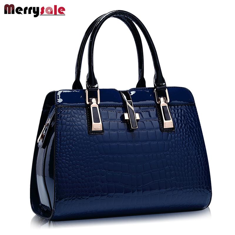 Prix pour L'europe femmes sacs à main en cuir PU sac à main en cuir femmes sac sac à main de brevet