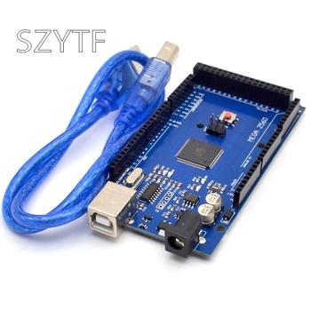 MEGA2560 MEGA 2560 R3 ATmega2560-16AU CH340G AVR płyta USB pokładzie rozwoju MEGA2560 dla tanie i dobre opinie SZYTF CN (pochodzenie) Nowy MODULE