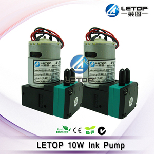 Image 4 - LETOP Outdoor Maschine Lösungsmittel Inkjet Drucker 3W 7W 10W Drucker Tinte Pumpe 24V