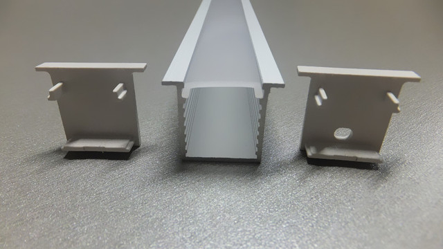 Deep recess aluminum profile with flange and opal matte diffuser for deep recess aluminum profile with flange and opal matte diffuser for led strip light flush aloadofball Choice Image