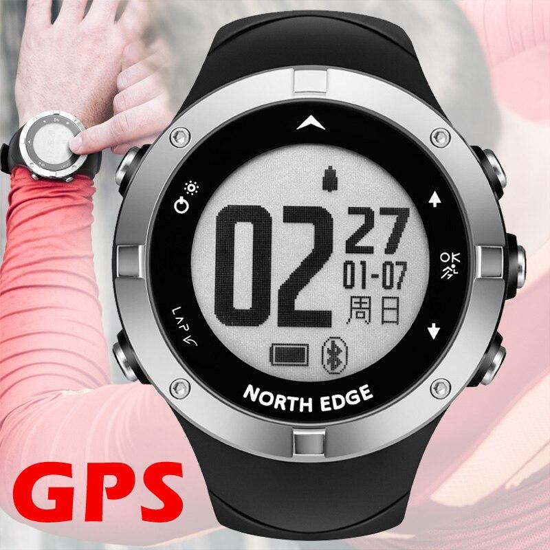 Montre gps numérique Heure Coeur Taux Hommes montre-bracelet numérique intelligent étanche Calories Courir Jogging Triathlon Randonnée NORD BORD