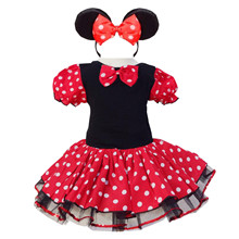 Girls-Dress-Minnie-Mouse-Dot-Tulle-Pageant-Unique-Design-Kids-Clothes-Party-Fancy-Costume-Cosplay-Baby