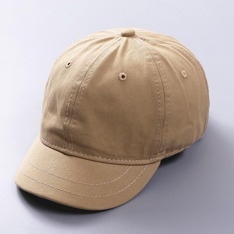 2018 High Quality Unisex 100% Cotton Outdoor Short brim   Baseball     Cap   Snapback Fashion Sports Hats For Men & Women   Cap