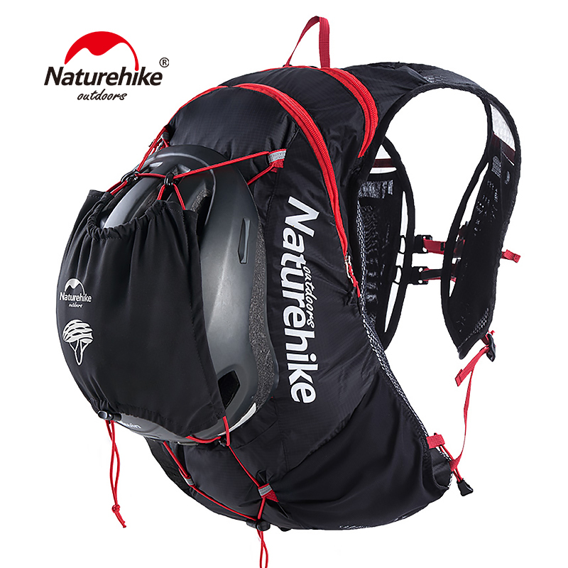 Naturehike Outdoor Hydration Pack Running Backpack 15L Cycling Bag Hiking Water Bag 70D Nylon Lightweight Running