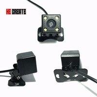 Universal Waterproof Back Camera HD CCD 4 LED Night Vision Car RearView Camera Car Reverse Camera