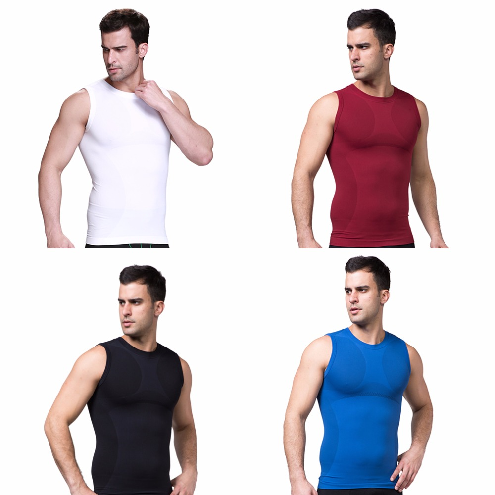 Corset memory steel support Slimming Men's Body Shaper Belly Waist Cincher Corsets Shapewear Vests Sales Promotion