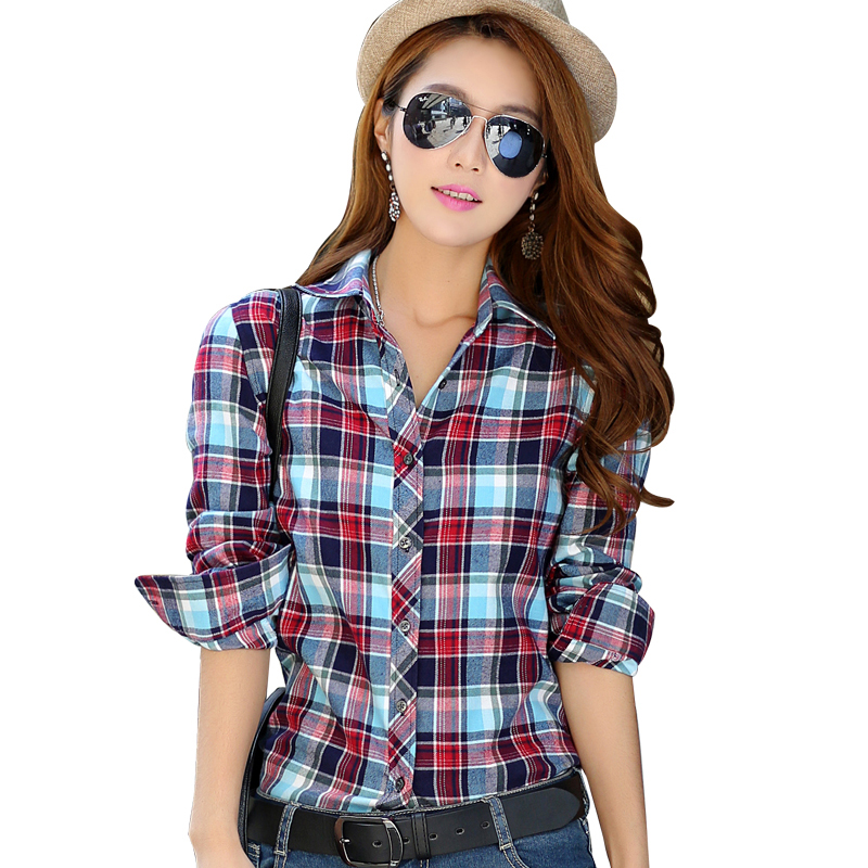 Women S Plus Size Flannel Shirts