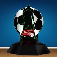 CR7 Cristiano Ronaldo 3D illusion Nacht Lampe Home Decor LED Nacht Licht Portugal Fußball Fans Dekorative Neuheit Tisch Lampe|Neuheit Beleuchtung|Licht & Beleuchtung -