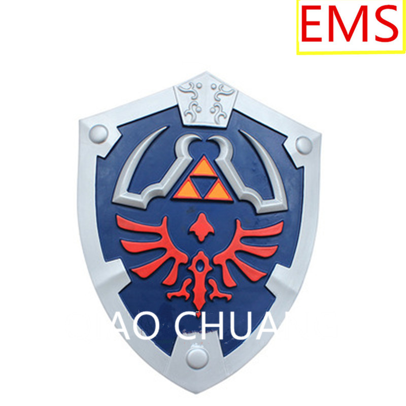 The Legend Of Zelda Shield Cosplay Props Foaming Resin Pub Furnishing Articles Film And Television Properties Weapon Model G889 the legend of zelda cosplay weapons link swords shield pendants necklace 12pcs set anpd2164