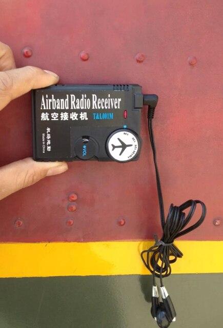 118 МГц-136 МГц воздуха радиодиапазоне приемник авиация группа приемник для Аэропорта Землю