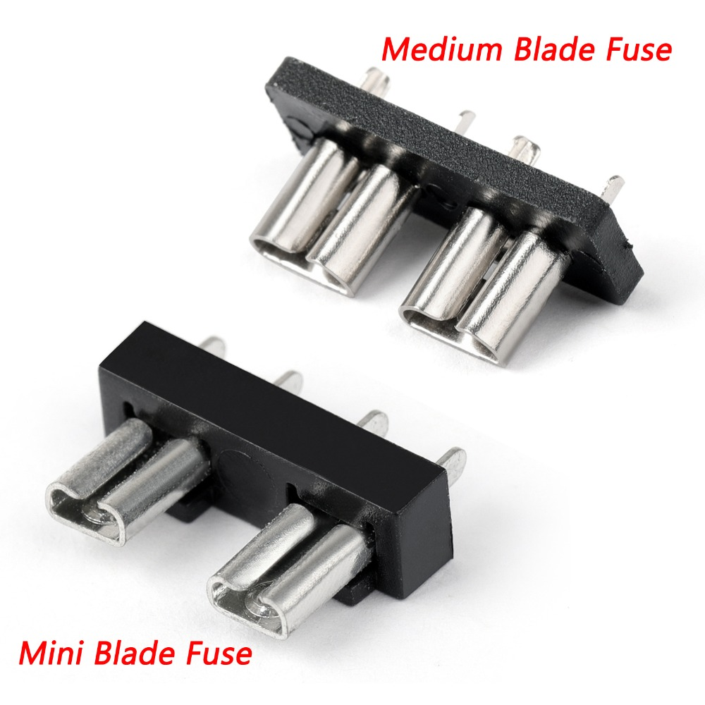 small resolution of areyourshop high quality sl 506p medium mini blade fuse holder auto automotive boat 32v for