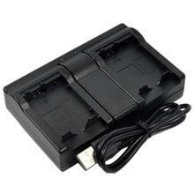 Carregador de bateria Dual USB para NP-60 FinePix F601 F410 F401 M603 50i 601 Câmera Digital Com Zoom