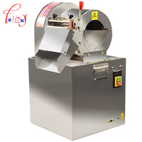 300KG H Electric Commercial Vegetable Cutter Machine Stainless Steel Potato Lemon Cutter Slicer Potato Fries Cutting
