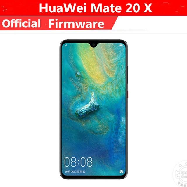 """Оригинальный HuaWei Коврики 20 X 4G LTE Мобильного Телефона Kirin 980 Android 9,0 7,2 """"2240×1080 8 ГБ Оперативная память 256 ГБ Встроенная память 40.0MP NFC Leica IP53"""