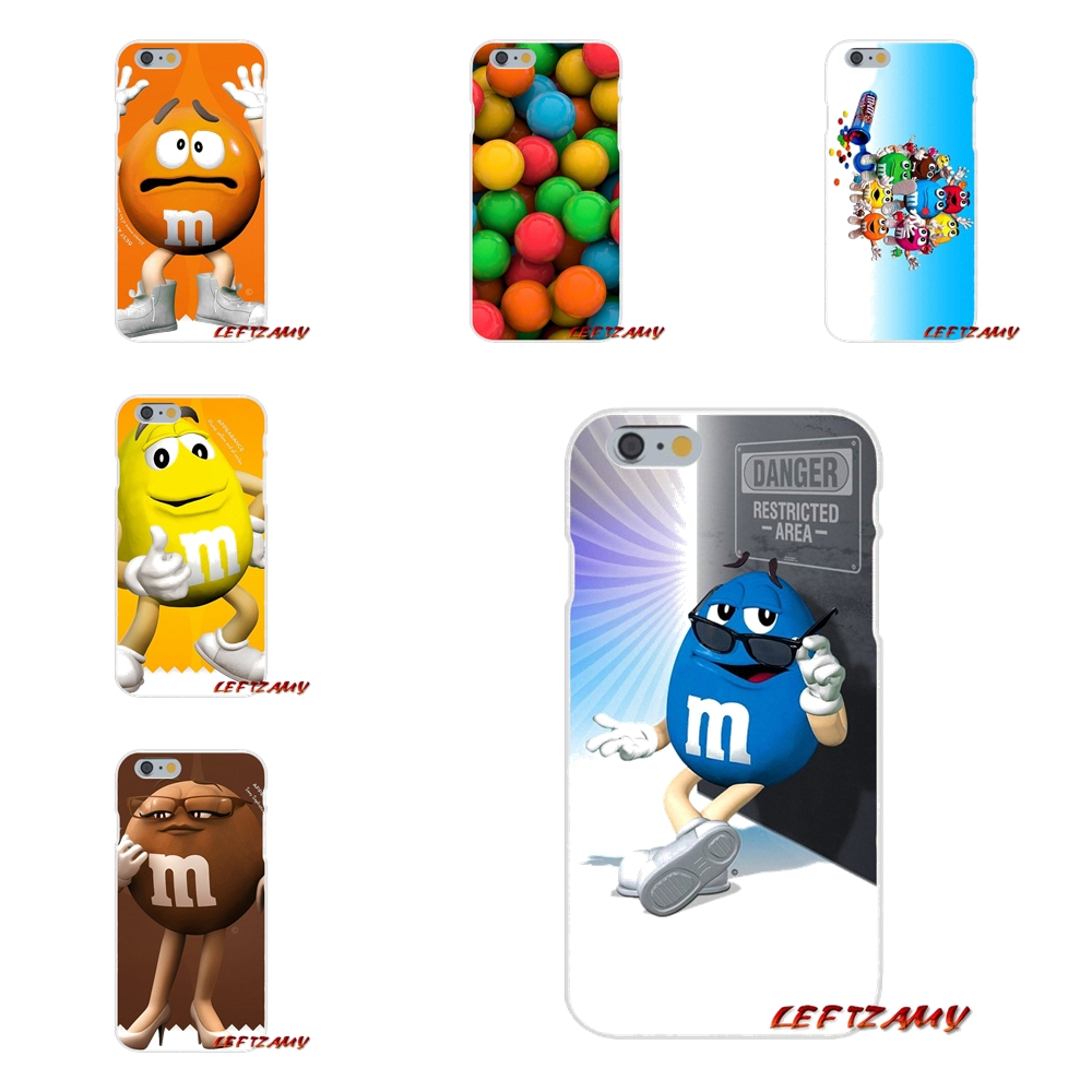 M M S Lovely Chocolate Candy Slim Silicone phone Case For HTC One M7 M8 A9 M9 E9 Plus U11 Desire 630 530 626 628 816 820