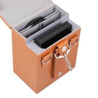 v5 pro v6 holder adapter pu lens Filter hard storage box Pouch Case bag for nd cpl Square Filters 100*100mm 100*150mm 8 Slots