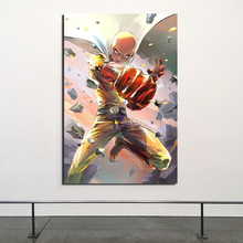Japanese Anime Cool One Punch Man Canvas Painting Print Living Room Home Decoration Modern Wall Art Oil Posters Picture