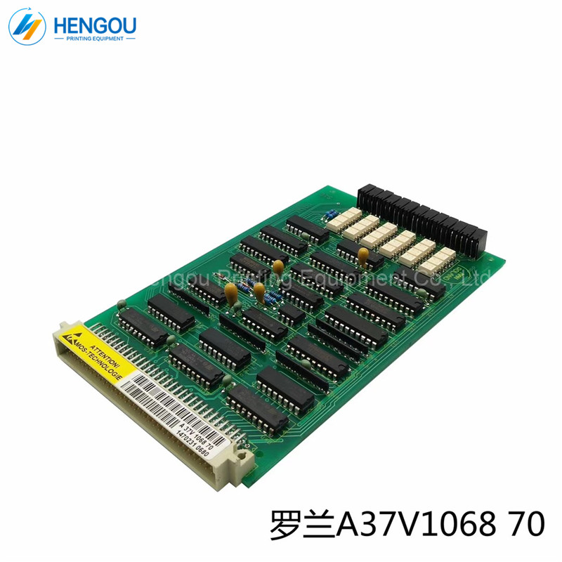 Jiaobu 1 Piece New A37v106870 Roland Circuit Board A 37v 1068 70 For Man Roland Printing Press