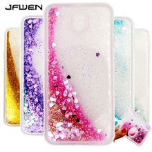 JFWEN For Samsung Galaxy J7 2017 Case Silicone Transparent Soft TPU Clear Liquid Cases For Coque Samsung J7 2017 J730 Case Cover(China)