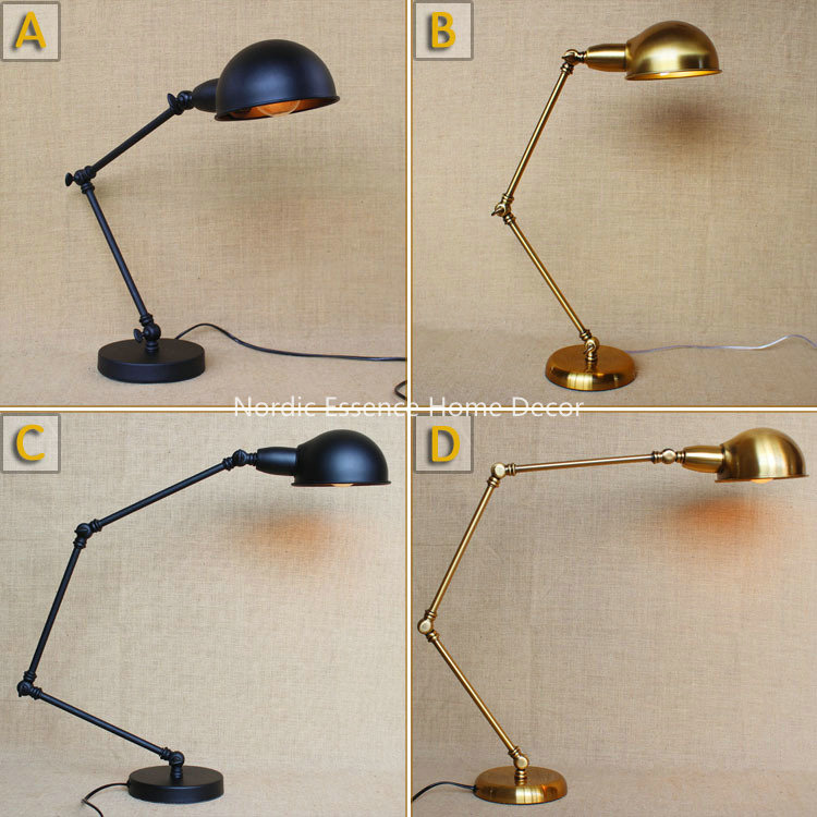 dkny the modernist ny2640 Nordic LOFT  Nordic American country modern pastoral creative retro modernist living room bedroom decorative desk table lamp