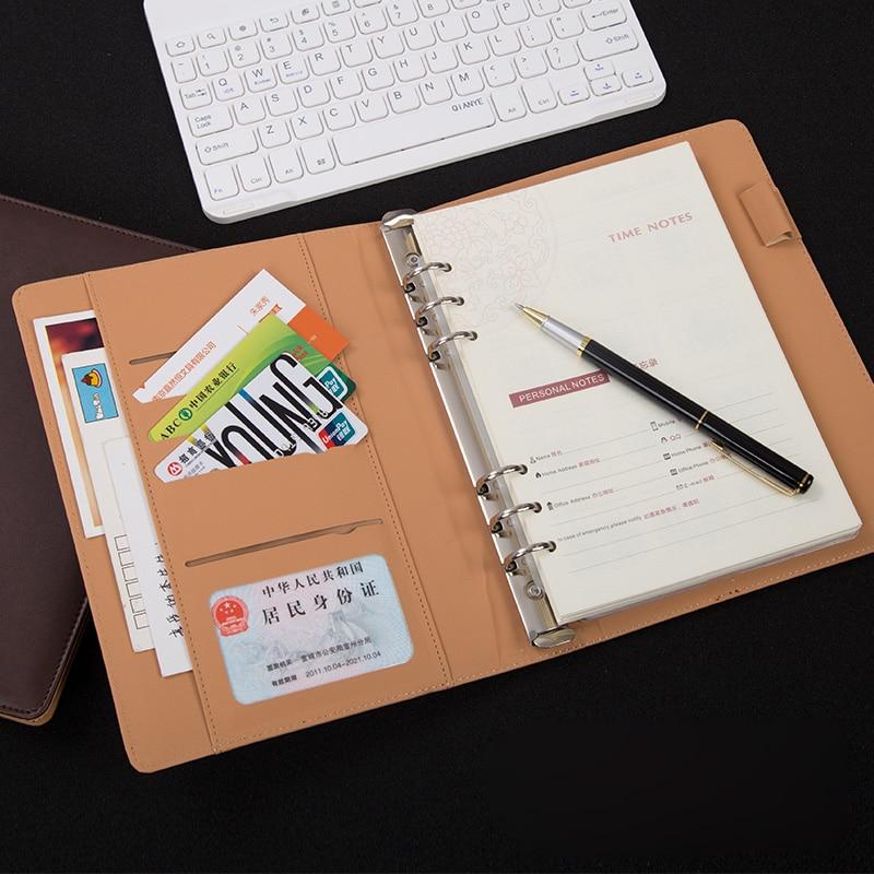 A5 Looseleaf Notebook Creative Diary