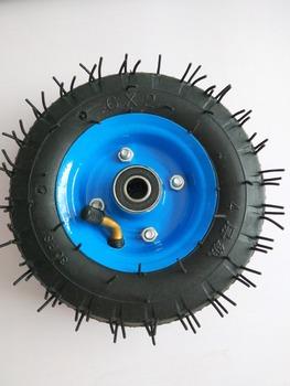 Darmowa wysyłka 6 #215 2 obręcz do koła opony 6 cali 15cm pneumatyczne koła pompy plecak na kółkach kółko do wózka kółka kółka kółka tanie i dobre opinie 6x2 tire tyre rim 6inch 0 56kg scxjwt rubber 1inch