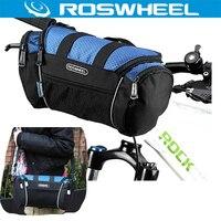 ROSWHEEL Bike Bag Bicycle Front Frame Tube Bag Pack Handlebar Basket Bycicle Cycling Pannier Shouldber Bag