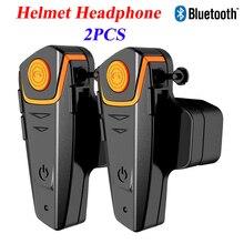 Saiyu 2 компл. Шлемы-гарнитуры Водонепроницаемый мотоциклист Bluetooth Интерком переговорные гарнитуры для мото гонщик с fm Радио