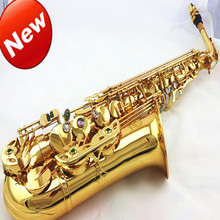 The new E-flat alto saxophone Xinghai double reinforcement musical instruments professional promotional package delivery