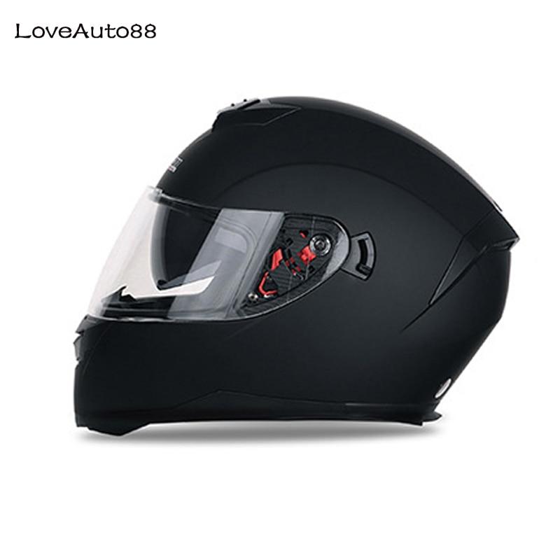 Full Face Professional Motorcycle Helmet Safe helmets Racing helmet Modular Dual Lens Motorcycle Helmet for Women/Men-in Helmets from Automobiles & Motorcycles