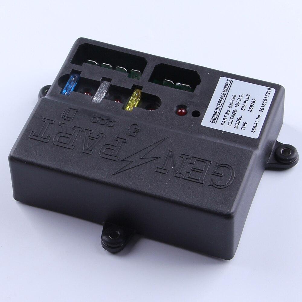EIM PLUS 12V DC engine interface module 630-088 speed controller diesel generator engine motor charge regulator genset part generator speed controller 3044195 for diesel engine genset