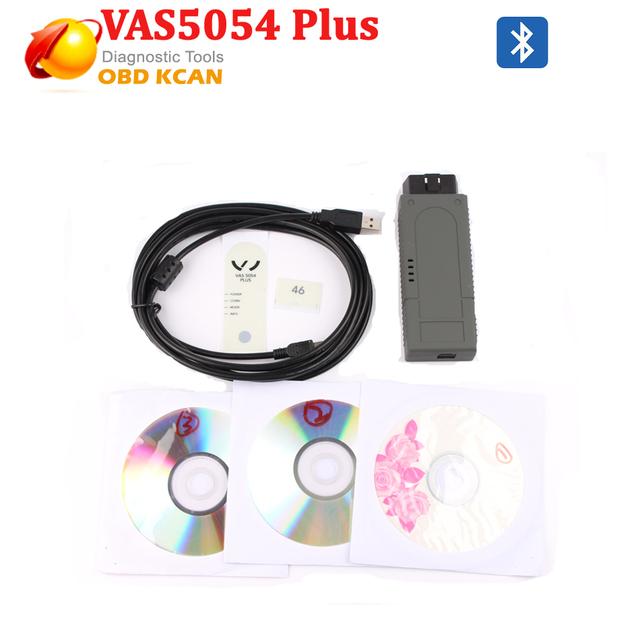 Bluetooth VAS5054A OKI chip completo Plus con ODIS 2.02 Versión VAS 5054A herramienta de diagnóstico del escáner