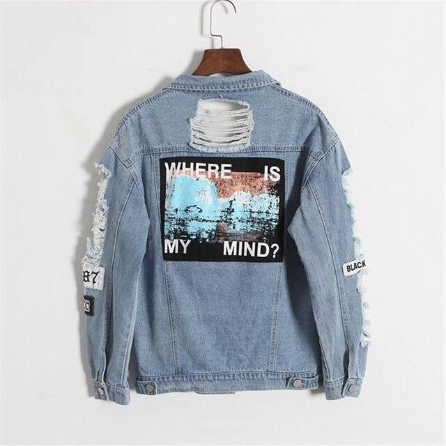 Aliexpress Com Buy Vintage Fashion Women Denim Jacket Embroidery