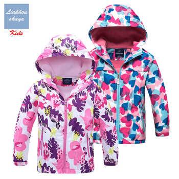 Liakhouskaya 2019 New Jacket For Girls Children Spring Double-deck Water Proof Teenage Kids Warm Coat Polar Fleece Hoodies 4-13Y - DISCOUNT ITEM  39% OFF All Category