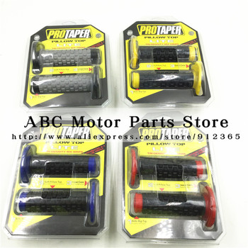 NEW PRO Taper Handle grips Motorcycle Protaper Dirt Pit Bike Motocross With Original Packing Box