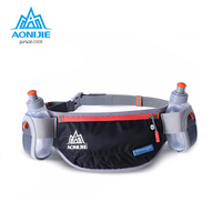 AONIJIE Men Women Running Waist Pack Lightweight Outdoor Sports Racing Hiking Gym Fitness Hydration Belt Water