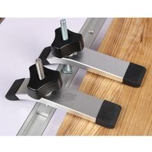 M8x100мм Т-образная гайка раздвижные винты для торцовочной дорожки Т-образной пазы деревообрабатывающий инструмент
