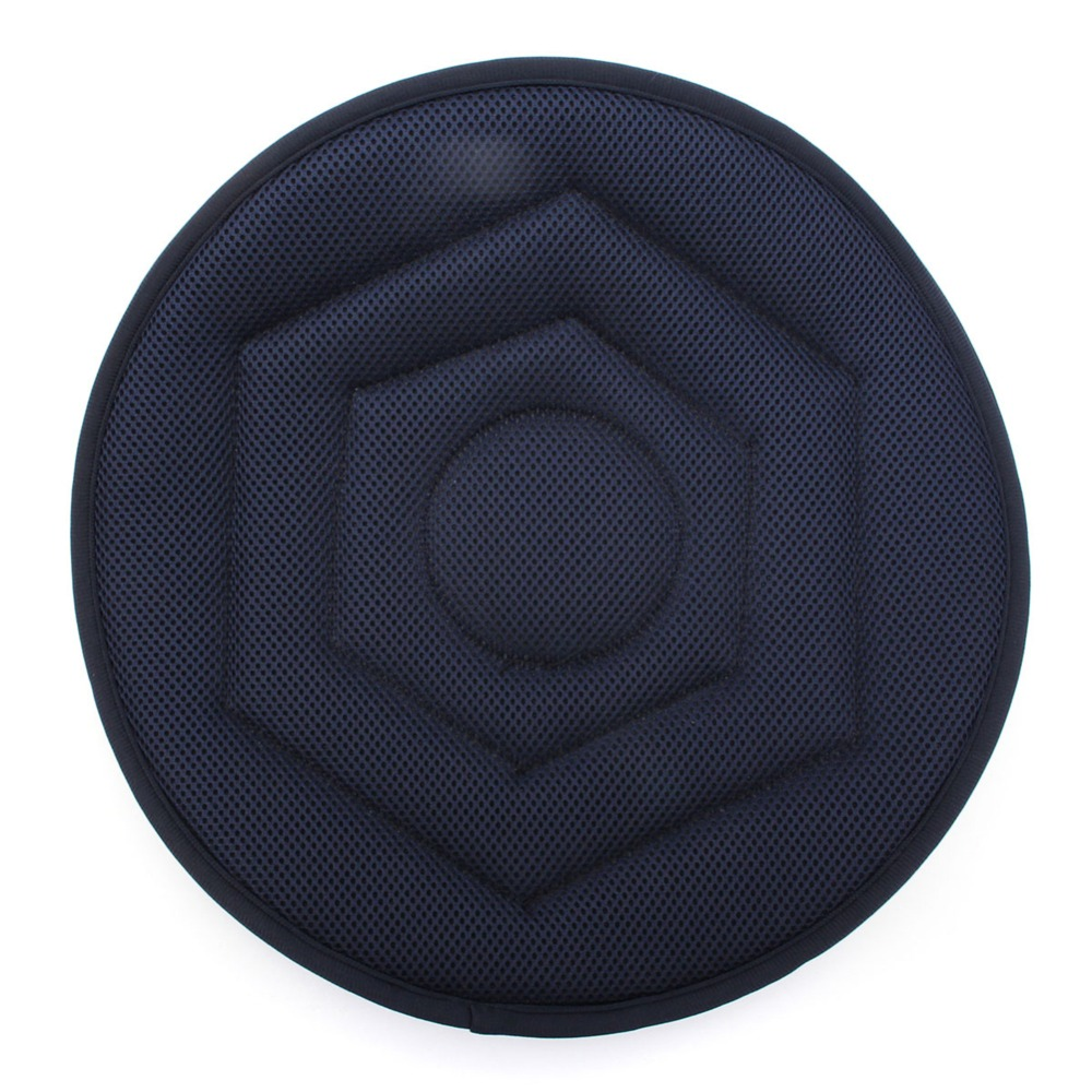 Seat Cushion Chair-Tie Swivel-Foam Mobility-Aid Non-Slip In 40 Dark-Blue Revolving On-Pad
