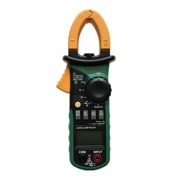 MASTECH MS2108A multímetro Digital Amper Clamp Meter pinza de corriente Pincers AC/DC voltaje de corriente probador de resistencia