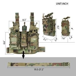 Image 2 - EXCELLENT ELITE SPANKER Combination Clip Bag Leg Holsters Magezine Pouch Tactical MOLLE Leg Holsters Suit Hunting Equipment