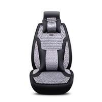 2018 New Flax Universal Car Seat Covers 5 Auto Cushion Fit BMW All Models 1 3