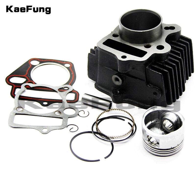 Motorcycle parts LF 125 52.4mm Piston & Rings Cylinder body Gasket Rebuild Kit Fit LIFAN  CC Pit Bike