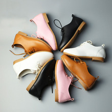 BABAYA 2018 New Girls Boys Casual Leather Shoes Baby Girls Party Dancing