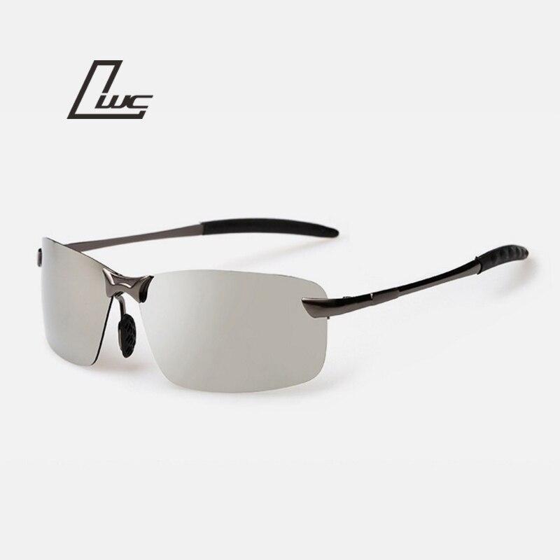 Frame da liga Marca Polarizada óculos de sol dos homens Motorista Óculos De  Sol Espelho Esportes óculos de sol para as mulheres óculos de visão noturna  Hot ... db19ca3dd5