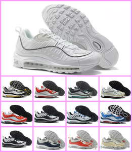 a9cea1583b5 Gundam Max White Running Shoes Red Blue Silver Bullet Men Sneakers